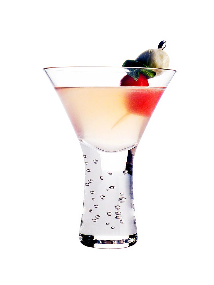 Berry Mint Martini